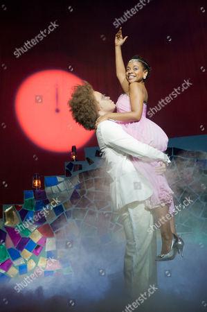 'Cinderella' - Craig Storrod (as Prince Leo) and Ayesha Antoine (as Cinderella)