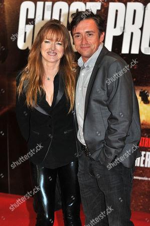 Amanda Etheridge and Richard Hammond