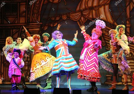 Editorial picture of 'Dick Whittington' pantomime at the New Wimbledon Theatre, London, Britain - 13 Dec 2011