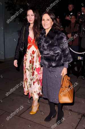 Abi Phillips and Arlene Phillips
