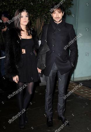 Stock Photo of Lorena Mancini and Alex Zane