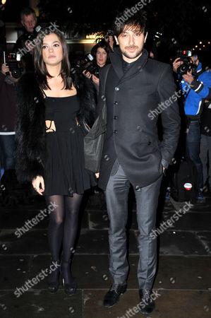 Stock Picture of Lorena Mancini and Alex Zane