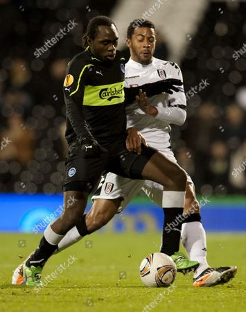 Editorial picture of Fulham v Odense, UEFA Europa League Football, Group K, Craven Cottage, Fulham, London, Britain - 14 Dec 2011