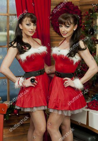The Cheeky Girls - Gabriela Irimia and Monica Irimia