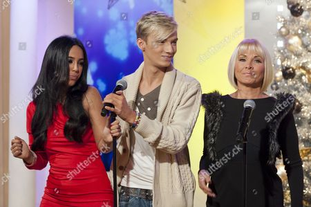 Peri Sinclair, Harry Derbidge and Carol Wright