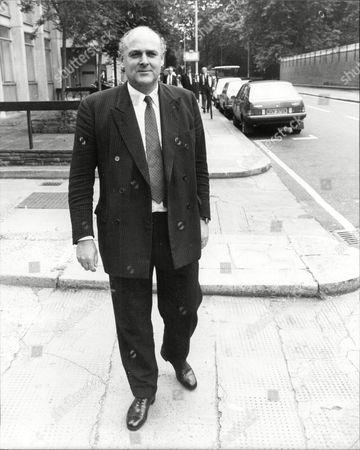 Ian Mccorquodale Chairman Of Debretts Attends An Industrial Tribunal. (son Of Barbara Cartland)