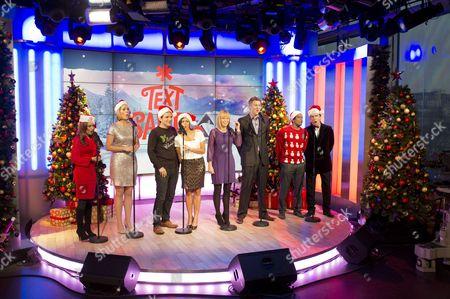 Tasmin Lucia Khan, Kirsty McCabe, Steve Hargrave, Lucy Verasamy, Kate Garraway, Dan Lobb, Gavin Ramjaun and John Stapleton.