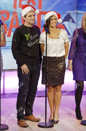 Stock Photo of Steve Hargrave and Lucy Verasamy