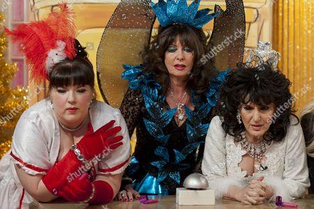 Leanne Jones, Vicki Michelle and Lesley Joseph