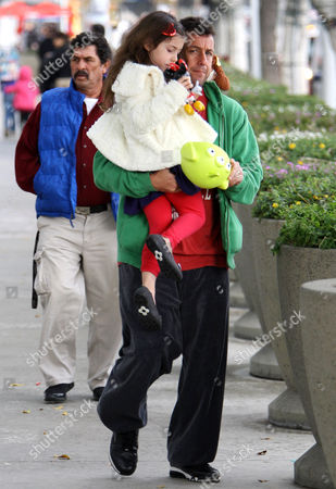 Adam Sandler and Sadie Madison Sandler