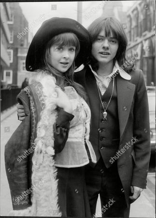 Actor Jack Wild (dead 03/06) With His Fiancee Singer Gaynor Jones In London (they Later Married And Divorced)