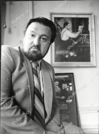 Duncan Weldon Of Triumph Apollo Productions Theatre Group 1983.