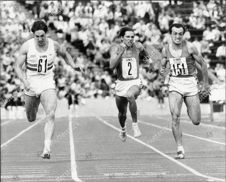 Allan Wells Winning Men's 200m At Crystal Palace Beating Pietro Mennea 1983.
