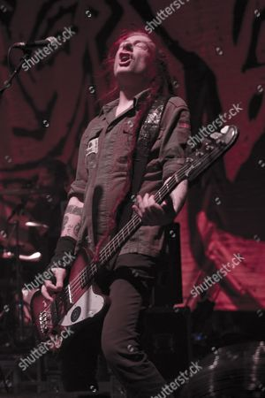 Stock Image of Jeremy Cunningham - The Levellers