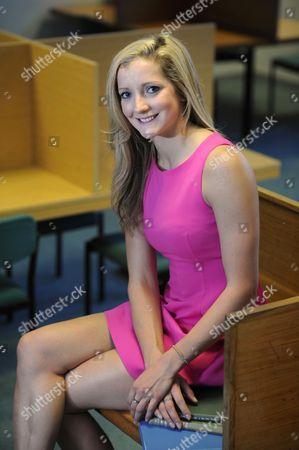 Editorial photo of Freyja Prentice, British Olympic Modern Pentathlon team member at the University of Bath, Britain - 16 Dec 2011