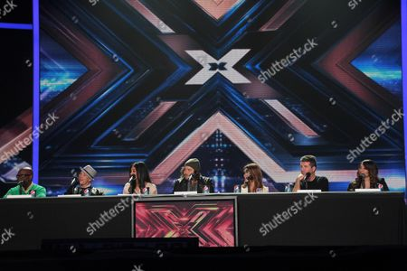 Editorial photo of 'The X Factor' press conference, Los Angeles, America - 19 Dec 2011