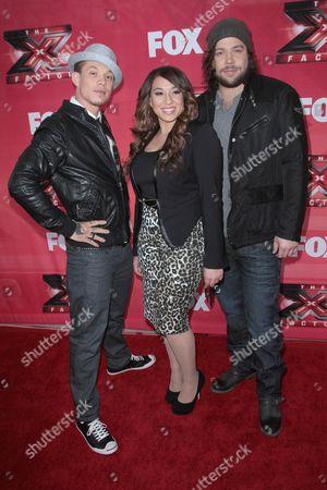 Chris Rene, Melanie Amaro and Josh Krajcik