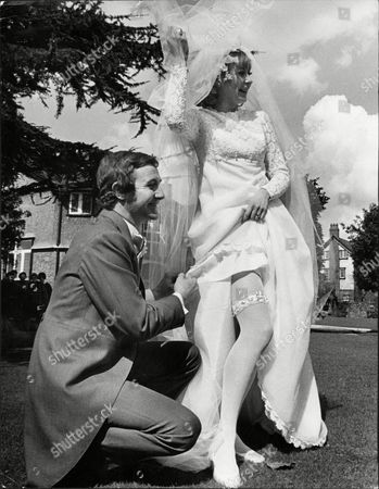 The Wedding Of Actor Brian Mcdermott (dead 11/2003) And Actress Sandra Duncan In Hale Cheshire.