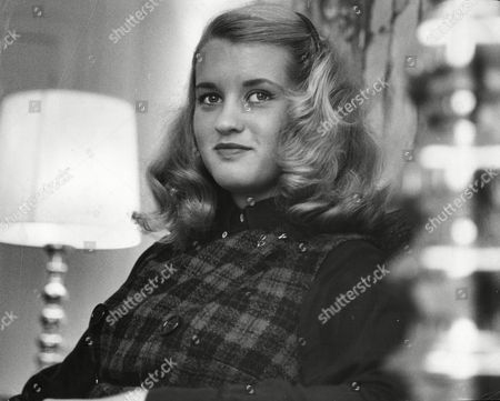 Stock Picture of Barbara Merrill (barbara Davis Sherry) 16 Year Old Daughter Of Actress Bette Davis B. D. Hyman (born Barbara Davis Sherry; May 1 1947) Aka B.d. Merrill Is An American Author And Pastor. Hyman Was Born In Santa Ana California The Daughter Of The Actress Bette Davis And Artist William Sherry. She Was Adopted By Davis's Husband Gary Merrill In 1950. She Took Back Her Own Last Name--sherry--upon Turning Sixteen Claiming That She Wished To Distance Herself From Merrill. She Appeared Briefly As An Infant In Her Mother's Film Payment On Demand (1951). Under The Stage Name B.d. Merrill She Played A Minor Role As The Next Door Neighbor's Daughter In What Ever Happened To Baby Jane? (1962) Which Starred Her Mother And Was Produced By Seven Arts Productions.