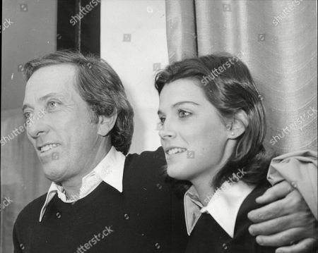 Stock Image of Singer Andy Williams With Girlfriend Laurie Wright.