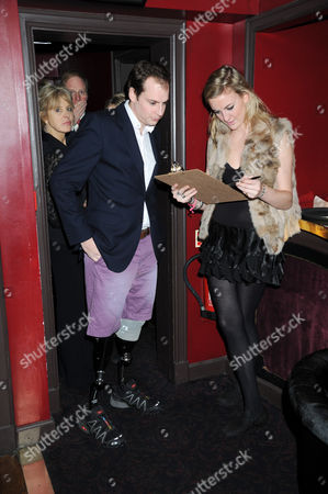 Captain Harry Parker arriving at the party