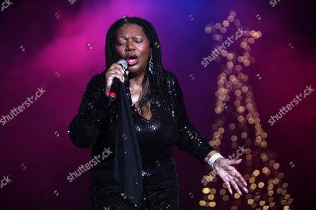 Liz Mitchell, lead singer of Boney M