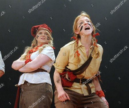 'Swallows and Amazons' - Katie Moore as Susan and Celia Adams as Nancy