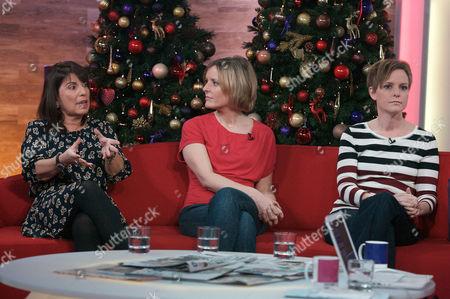 Editorial image of 'Daybreak' TV Programme, London, Britain - 20 Dec 2011