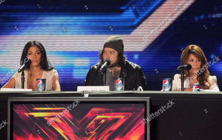 Editorial image of 'The X Factor' press conference, Los Angeles, America - 19 Dec 2011