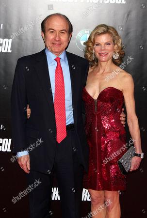 Philippe P Dauman and Debbie Dauman