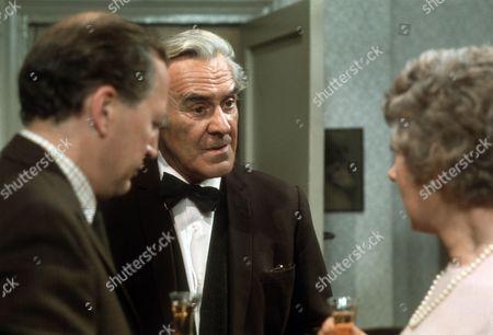Bernard Hepton as Charles, John Le Mesurier as Geoffrey and Noel Dyson as Kitty