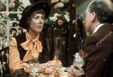 Stock Picture of Noel Dyson as Kitty and Bernard Hepton as Charles