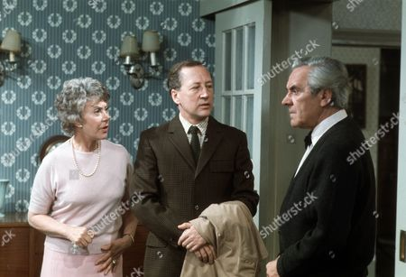 Noel Dyson as Kitty, Bernard Hepton as Charles and John Le Mesurier as Geoffrey