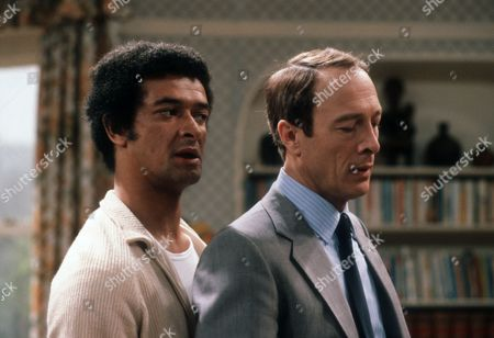 Tony Osoba as Mannie Laksman and Michael Culver as Murray Tellman