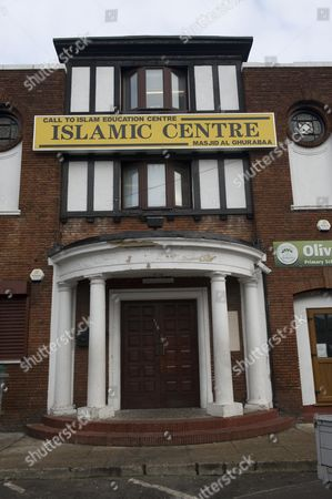 Editorial photo of The Mosque Where Taimour Abdulwahab Al-abdaly Suicide Bomber Attended In The Swedish Attack. Picture By Glenn Copus