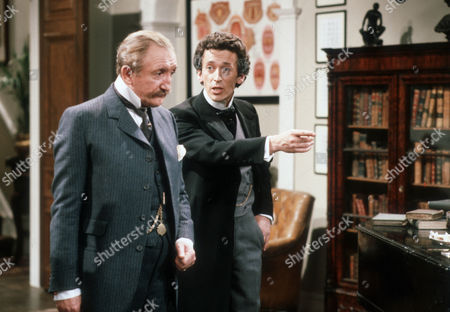 Ronald Fraser as Colonel Pickering and Robert Powell as Professor Henry Higgins