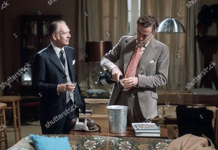 Gerald Sim as Julian Burroughs and Jack Hedley as Gerald