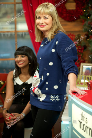 Stock Picture of Sian Lloyd and Samanthi in The Hub