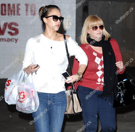 Jessica Alba and Catherine Alba