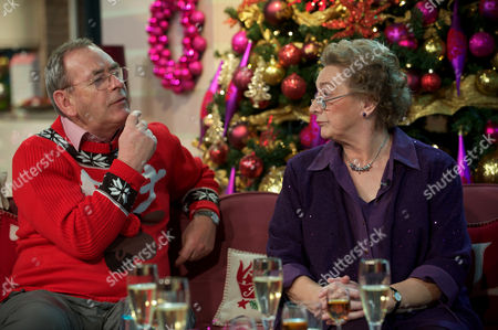 Stock Photo of Fred Talbot and Susan Brookes