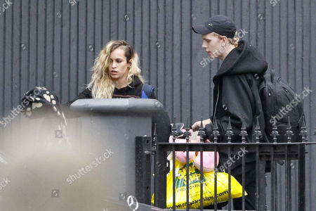 Editorial picture of Alice Dellal Leaving Her House, west London, Britain - 27 Dec 2011