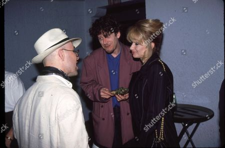 Thomas Dolby and Rosanna Arquette