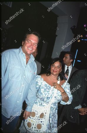 Tom Arnold and Roseanne Barr