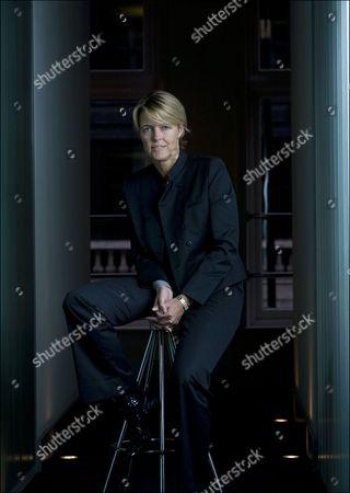 Editorial image of Christine Hodgson, CEO of Capgemini Technology Services, London, Britain - 14 Oct 2010