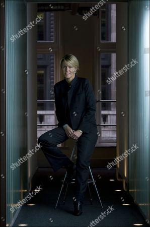 Editorial photo of Christine Hodgson, CEO of Capgemini Technology Services, London, Britain - 14 Oct 2010