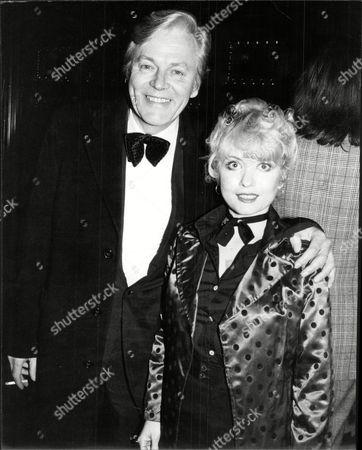 Stock Image of Actor Jack Watling And Actress Daughter Debbie Watling. Deborah Watling