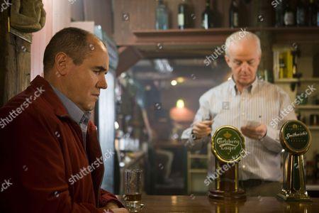 David Herlihy as Garda Finbarr Colvin and Sean McGinley as Costello.