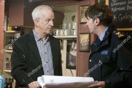 Sean McGinley as Garda Finbarr Colvin and Owen McDonnell as Sergeant Jack Driscoll