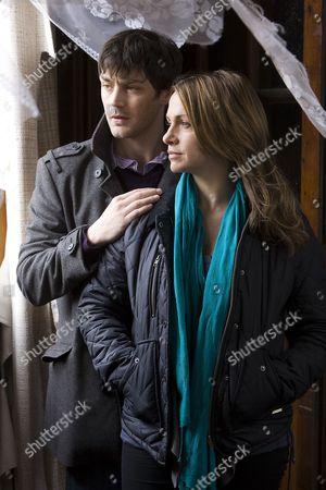 Matthew McNulty as Brian Doyle and Simone Lahbib as Gemma Burge.
