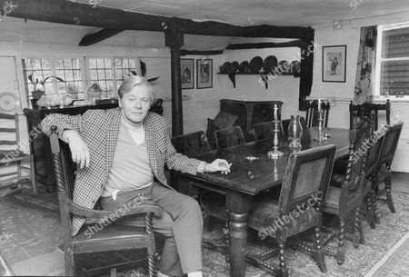 Stock Photo of Actor Jack Watling At Home